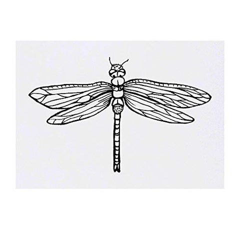 Azeeda Large 'Dragonfly' Temporary Tattoo (TO00016576)