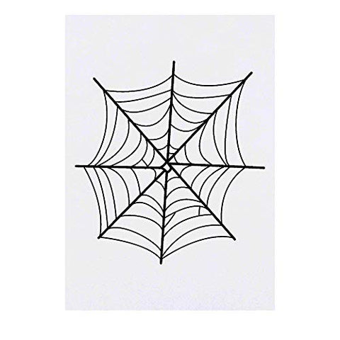 Azeeda Large 'Spider's Web' Temporary Tattoo (TO00016569)