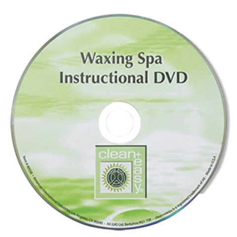 Clean + Easy Professional Waxing Spa DVD