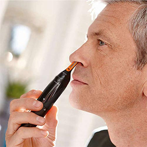 N / A Multifunctional Ear Nose Hair Trimmer, Safe Hose Protection Design, Whole Body Cleaning, Non-Slip Operation is Simple and Quick, Easy to Clean, Durable and Waterproof