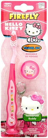 Firefly Toothbrush Travel Kit - Hello Kitty (Keychain) - 1
