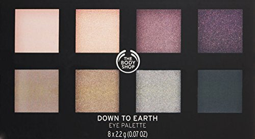 The Body Shop Down To Earth Eyeshadow Palette, 0.56 Oz (Vegan)