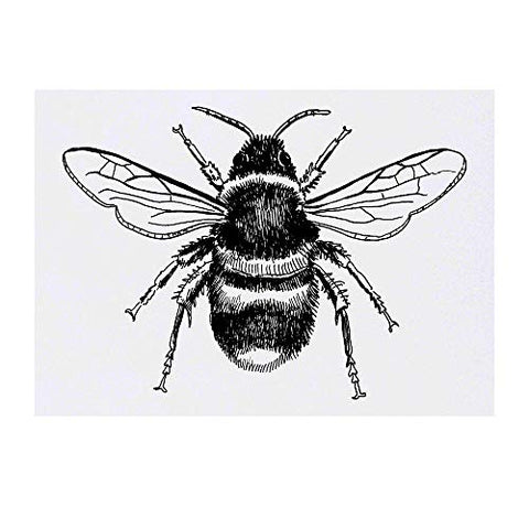 Azeeda Large 'Bee' Temporary Tattoo (TO00019005)