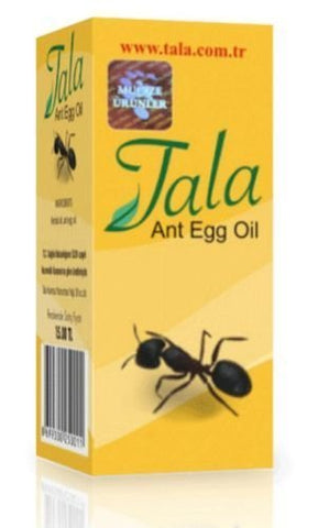 Tala ANT EGG OIL Hair Removal Genuine Organic Permanent Reducing Solution 20ml/0.7oz
