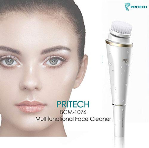 ZTZ 3IN1 Electric Wash Face Brush Facial Cleansing Device Pore Cleaner Body Cleaning Massage Mini Skin Beauty Massager