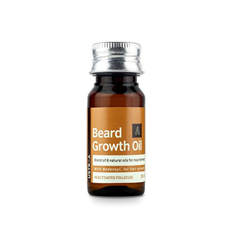 Ustraa Beard Growth Oil   With Redenysl & 8 Natural Oils (Argan Oil, Castor Oil, Almond Oil, Avocado