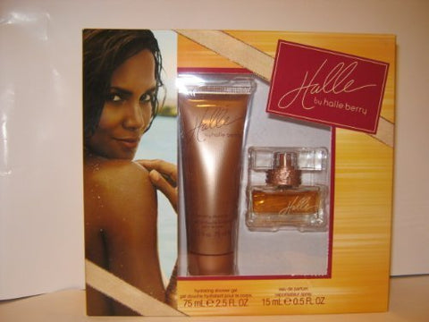 Halle By Halle Berry 2 Pc Gift Set - Hydrating Shower Gel 2.5 Fl Oz + Eau De Parfum Spray .5 Fl Oz (GREAT FOR MOTHERS DAY GIFTS)