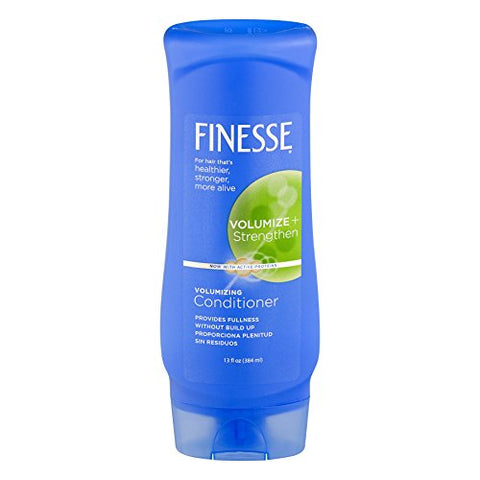 Finesse Volumize + Strenghten, Volumizing Conditioner 13 oz (Pack of 3)