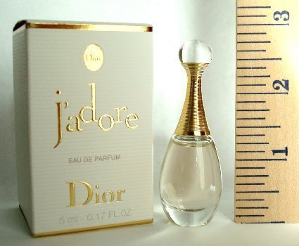 Dior J'Adore Miniature For Women, 0.17 oz EDP -Free Name Brand Sample-Vials With Every Order-