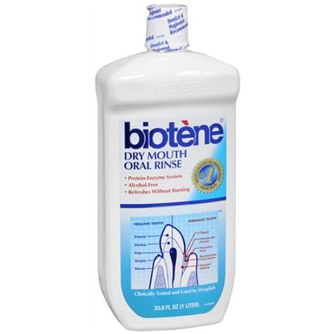 Biotene Dry Mouth Oral Rinse 33.8 fl oz Pack of 2