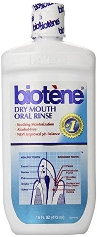 Biotene Mouthwash, 16 Fl Oz Pack of 4