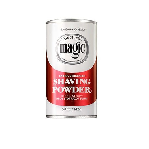 Magic Shaving Powder Red 5 Ounce Extra Strength (145ml) (3 Pack)