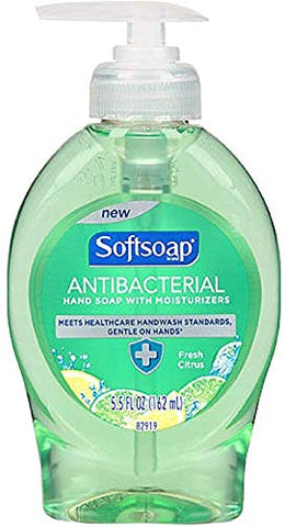 Softsoap Antibacterial Hand Soap with Moisturizers, Fresh Citrus 5.50 oz (Pack of 11)