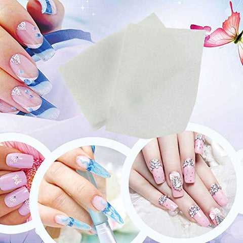 700pcs Nail Art Manicure Polish Remover Clean Wipes Cotton Lint Pads Paper YKS Beauty Accessories