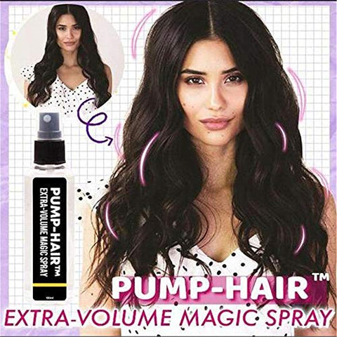 100ML Extra-Volume Magic Spray, Hairspray Hair Styling Spray, Hair Styling Spray Fluffy Hair Roots Instant Volumizing Long Lasting for Women Men (2PCS)