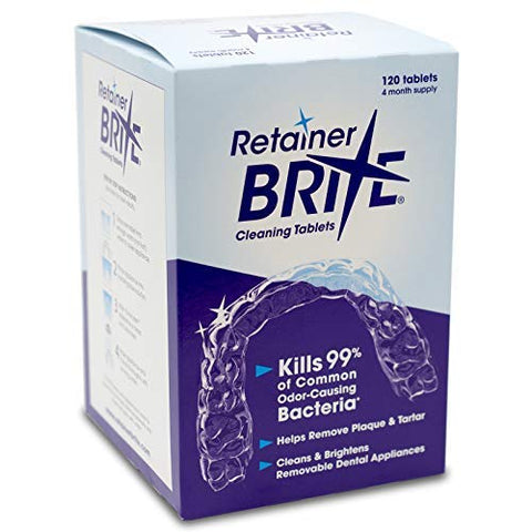 Retainer Brite 120 Tablets Value Pack (4 Months Supply)