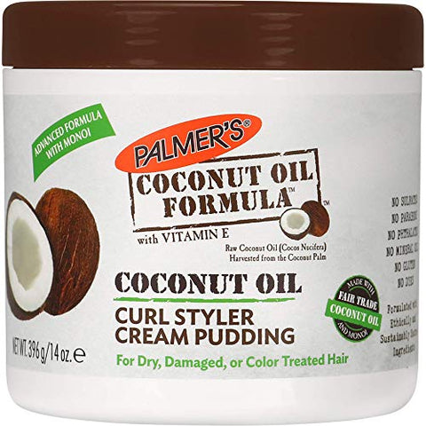 Palmer's Coconut Oil Curl Styler Cream Pudding, 14 Ounce