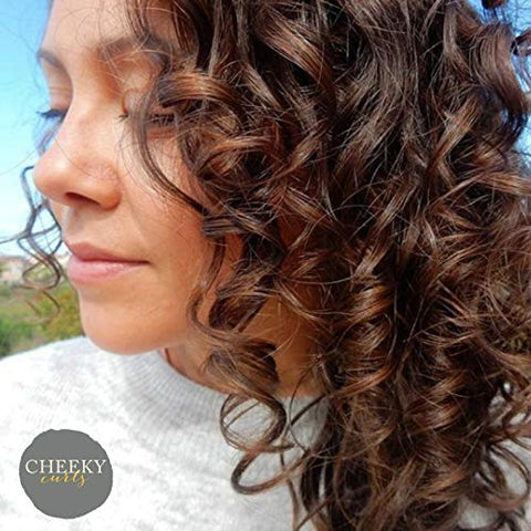Cheeky Curls - Natural Hair Care Product - Lemon Drop Curl Custard - Curl Gel - 8 oz.