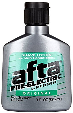 Afta Pre-Electric Shave Lotion Original 3 oz (Pack of 5)