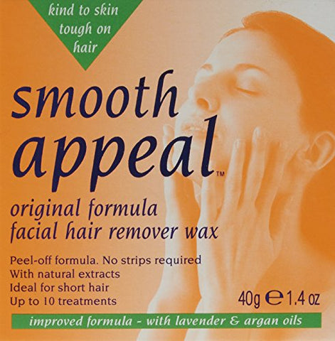 Smooth Appeal Original Facial Hair Remover Wax 40g by HealthLand