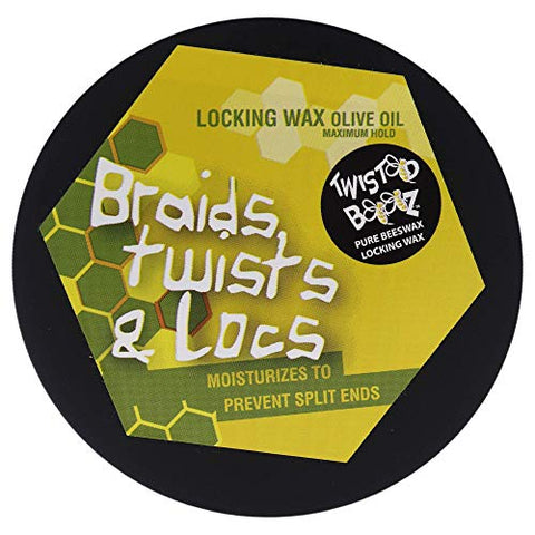 Twisted Bees Wax - Olive Oil by Ecoco for Unisex - 6.5 oz Wax