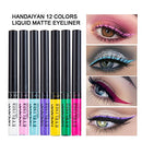 Image of Matte Liquid Eyeliner, Spdoo 12 Colors Waterproof High Pigmented Colorful Eye Liner Pen Set