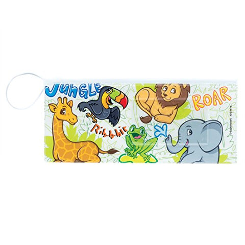 Jungle Friends Dental Pouches - Dental Hygiene Products - 48 per Pack