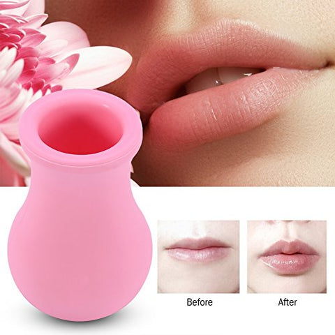 Vase-Shaped Lip Plumper Enhancer, Lip Enlarge, Women Silicone Lip Plumper Device, Lip Plumper Enhancer Lip Enhancement Device Beauty Tool