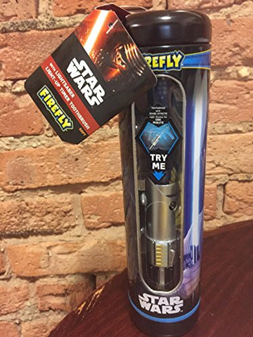 Firefly Star Wars Light Saber Toothbrush