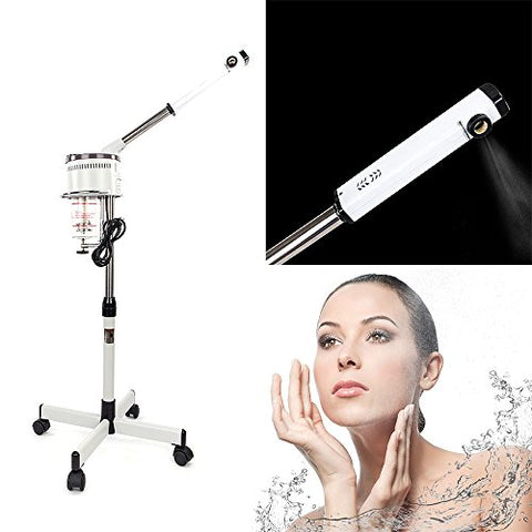 Mefeir 650 W Professional Facial Steamer Hot Mist, Home Spa Salon Skin Care, Face Therapy Beauty Equi