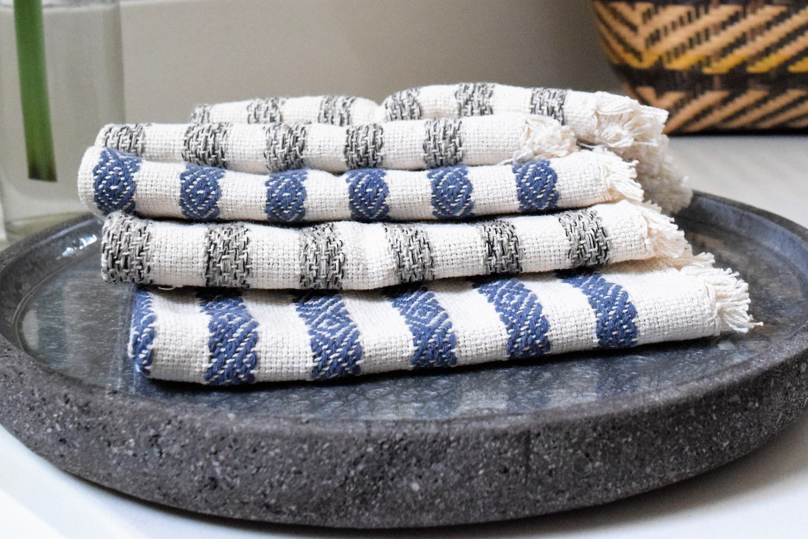 ecofriendly-hand towel-handmade-fair trade-cotton