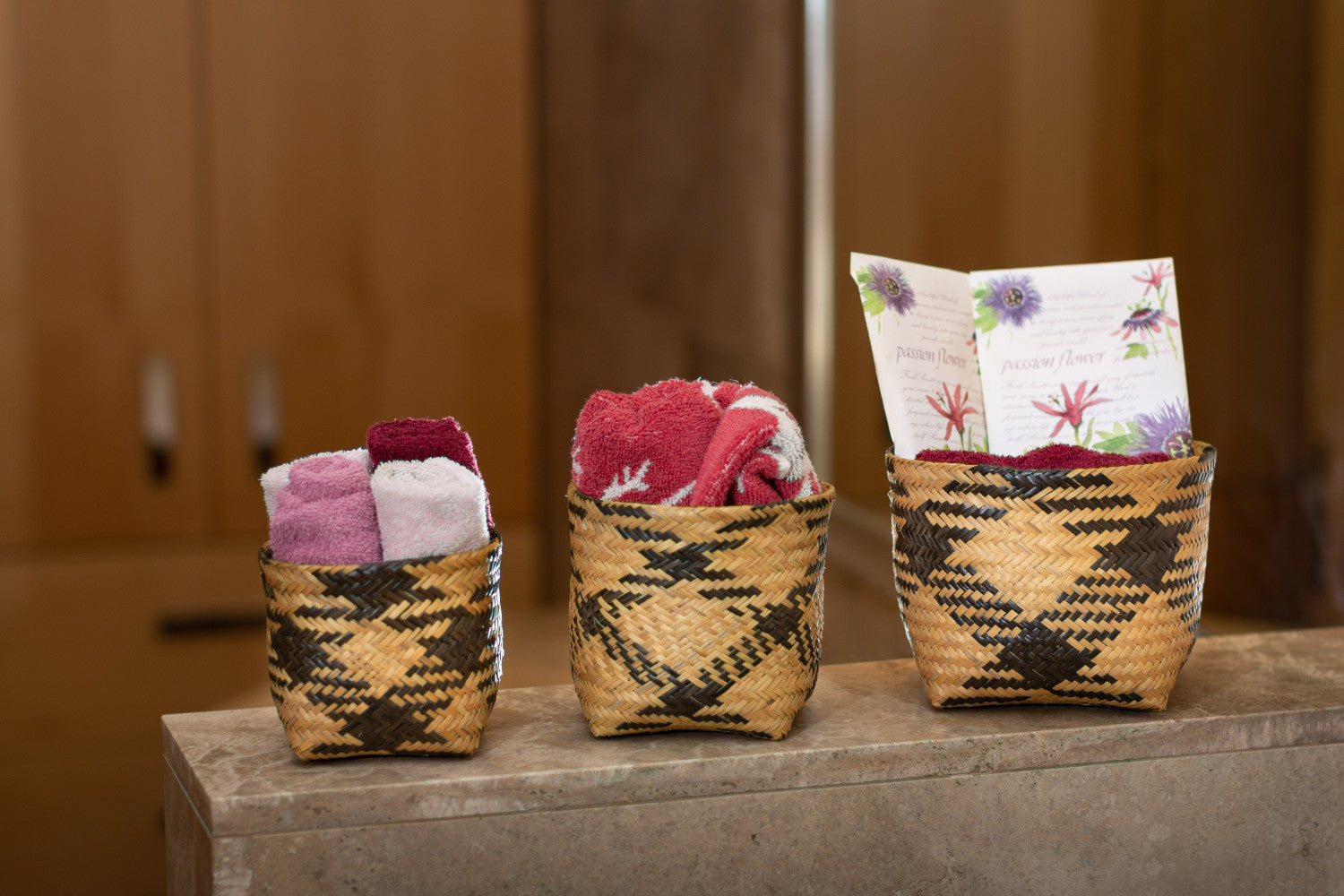 Square Baskets (set of 3)-Wanuna