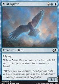 Mist Raven [Duel Decks: Blessed vs. Cursed] | Boss Minis