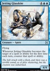 Jetting Glasskite [Eternal Masters] | Boss Minis