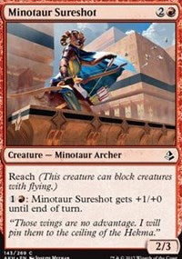 Minotaur Sureshot [Amonkhet] | Boss Minis