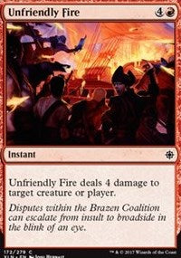 Unfriendly Fire [Ixalan] | Boss Minis