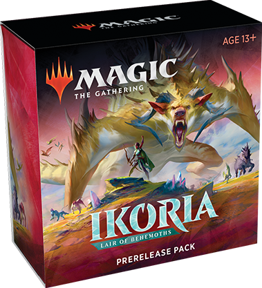 Magic the Gathering Ikoria: Lair of Behemoths Pre Release Pack | Boss Minis