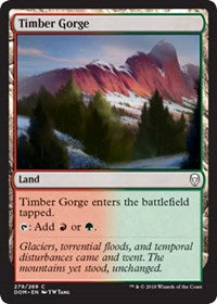 Timber Gorge [Dominaria] | Boss Minis