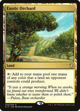 Exotic Orchard [Commander 2017] | Boss Minis