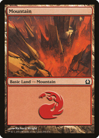 Mountain (268) [Return to Ravnica] | Boss Minis