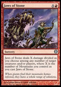 Jaws of Stone [Duel Decks: Knights vs. Dragons] | Boss Minis