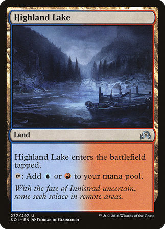 Highland Lake [Shadows over Innistrad] | Boss Minis