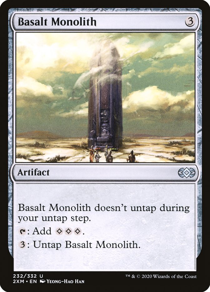 Basalt Monolith [Double Masters] | Boss Minis