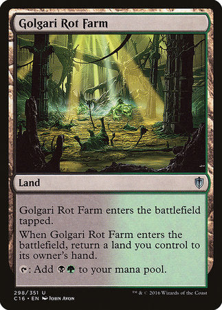 Golgari Rot Farm [Commander 2016] | Boss Minis