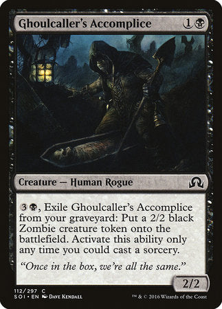 Ghoulcaller's Accomplice [Shadows over Innistrad] | Boss Minis