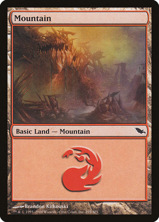 Mountain (295) [Shadowmoor] | Boss Minis