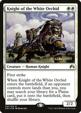 Knight of the White Orchid [Magic Origins Promos] | Boss Minis