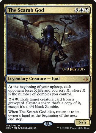 The Scarab God [Hour of Devastation Promos] | Boss Minis