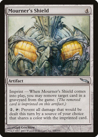 Mourner's Shield [Mirrodin] | Boss Minis