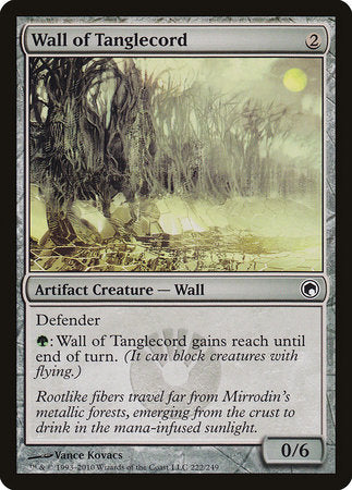 Wall of Tanglecord [Scars of Mirrodin] | Boss Minis